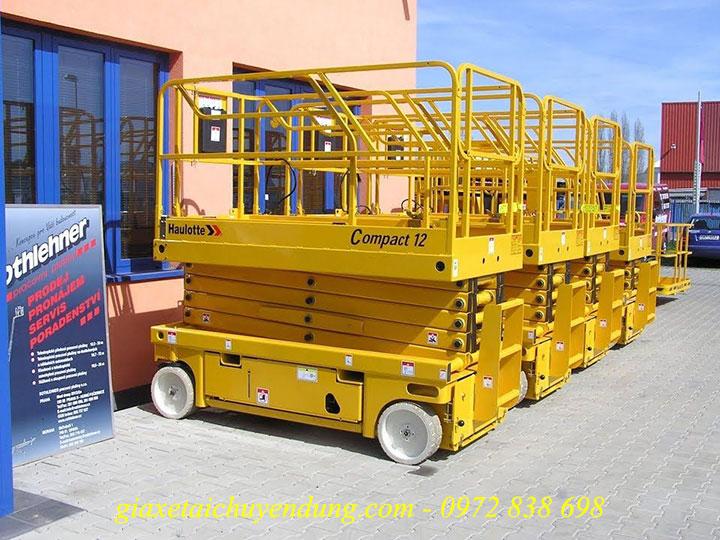 xe nâng người 12m haulotte, xe nâng người haulotte 12m, haulotte compact 12