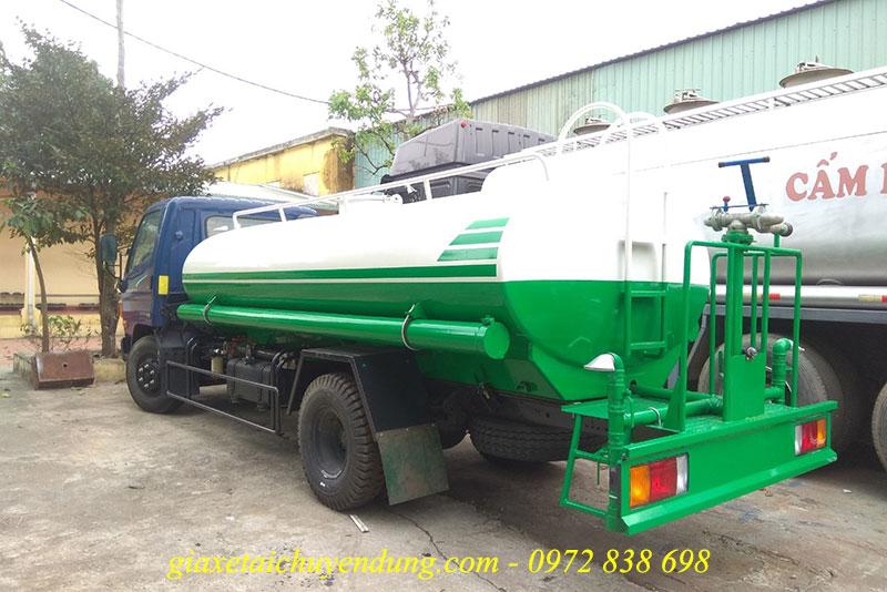 xe phun nước rửa đường hyundai new mighty 110sp