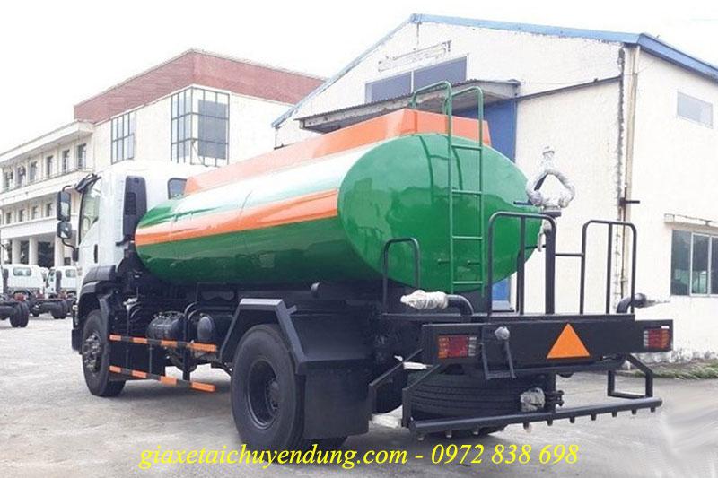 xe phun nước rửa đường isuzu fvr34le4